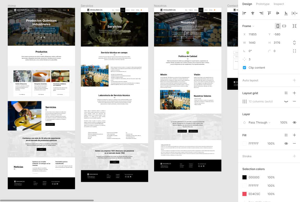 Prototipo Diseño Web