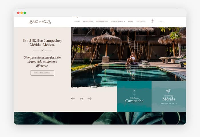 Diseño de páginas web profesionales, creativas y únicas 3